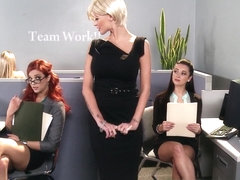 Hot And Mean: Office Prudes Need Pussy Too