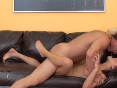 Horny pornstar Adriana Chechik in Best Natural Tits, College adult clip