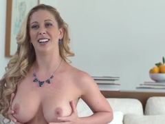 Hottest pornstar Cherie Deville in best mature, blonde adult clip