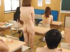 Nude School Day Punishment For Cute Hikaru Shiina - JapanHDV