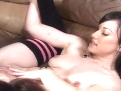 Mackenzee Pierce uses her attributes and skills to please a thick cock