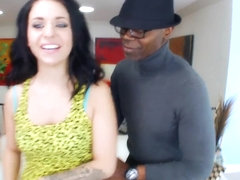 She takes her first black dick inside her. Staring Madelyn Monroe.