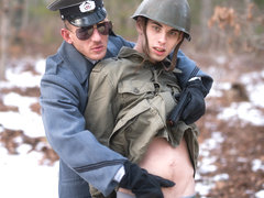 Sam Truitt & Alexander Gustavo in Prisoner of War 2, Scene 02 - IconMale