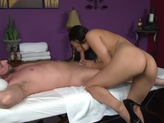 Crazy pornstar Vicki Chase in Hottest Massage, Blowjob porn movie