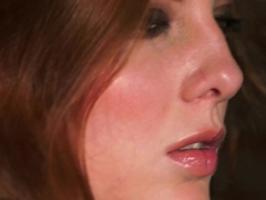 Hottest pornstar in Fabulous Redhead, Stockings porn video