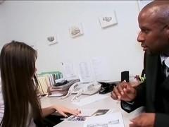 vrije vrouw interracial Porn