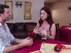 Busty mature Tiffany Mynx and hot seduction