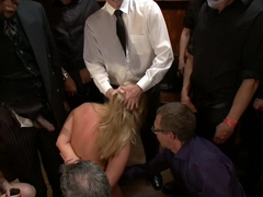 Beautiful Blonde Disgraced in Public