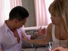 Best pornstars Blanche Bradburry and Cloe Lacourt in fabulous small tits, cumshots xxx movie