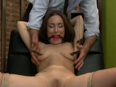 Campus Girl's Chronic Masturbation Therapy