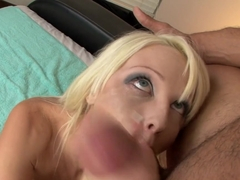 Best pornstars Rikki Six, Danny Mountain in Hottest Blonde, Blowjob sex scene