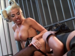 Incredible pornstars Helly Mae Hellfire, Rihanna Rimes in Fabulous Blonde, Big Tits porn scene