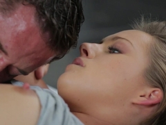 Hottest pornstars Bailey Bae, Danny Mountain in Crazy Small Tits, Romantic sex clip