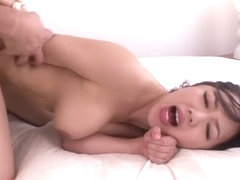 Hottest Japanese model Marina Isshiki in Amazing JAV censored Rimming, Hairy scene