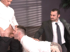 Sexual His ASSment featuring Jaxton Wheeler, Teddy Bryce, John Magnum - FistingCentral