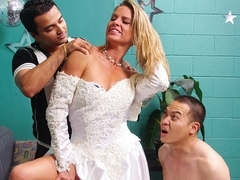 Amanda Blow in Cuckolded On My Wedding Day #03, Scene #01