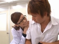 Yuma Asami blowjob and hardcore action