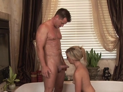 Amazing pornstar Callie Cobra in Hottest Blowjob, Blonde xxx movie