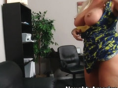 Karen Fisher & Christian in Naughty Office