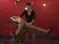 Incredible fetish porn video with exotic pornstars Jessica Creepshow and Mistress Shae Flanigan fr.