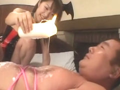 Exotic Japanese whore in Fabulous BDSM, Femdom JAV scene