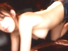 Incredible Japanese chick Arisa Sawa in Amazing Cumshot, Blowjob JAV clip