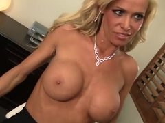Exotic pornstar Mikki Lynn in crazy blonde, big tits xxx scene