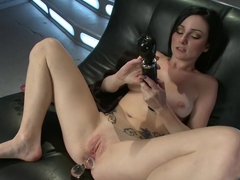 Horny fetish sex movie with fabulous pornstar Veruca James from Fuckingmachines