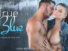 Marina Visconti & Danny Mountain in True Blue Video