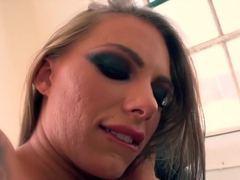 Hottest pornstar Claire Robbins in horny gaping, facial adult movie