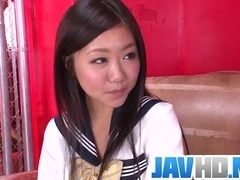 Akina Nakahara craves for this guy??s dick in her