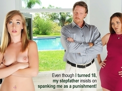 Iggy Amore in Punished By Step Daddy Movie
