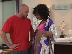 Crazy pornstars Will Powers, Misty Stone, Missy Stone in Horny HD, Massage porn video