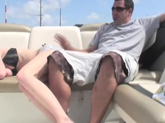 Incredible pornstar Angie Scott in fabulous blonde, outdoor porn video