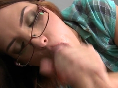 James Brossman fucks brunette babe Lyen Parker