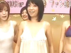 Horny Japanese chick Sakura Aida, Sasa Handa, Saori Hara in Hottest JAV video
