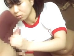 Horny Japanese whore Mikan Kururugi in Hottest Cumshots, Stockings/Pansuto JAV video