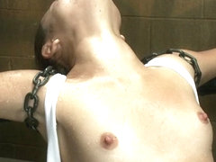 Kristina Rose in Wet T-Shirt + Hard Bondage - DeviceBondage