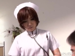 Amazing Asian milf is a wild dominating nurse