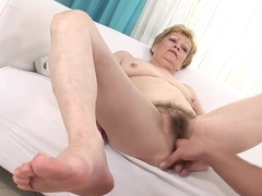 Crazy pornstar in horny hairy, mature porn movie