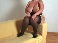 Breasty plumper mother i'd like to fuck in nylons