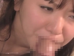 Incredible Japanese slut in Exotic Wife, Blowjob JAV scene
