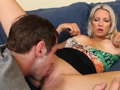 Emma Starr rides  Joey Brass's superb dick