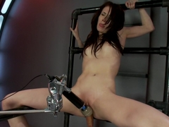 Best fetish adult scene with exotic pornstar Aiden Ashley from Fuckingmachines