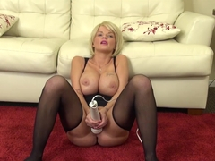 Fabulous pornstar Joslyn James in Amazing Stockings, Blonde porn scene