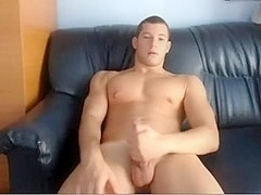 Gorgeous Gay Boy Finger Ass And Cums On Cam