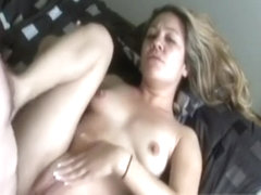 Vintage amateur anally creampied by old dude