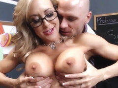 Busty Brandi Love gets nailed by Johnny Sins