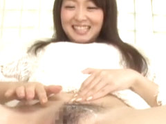 Hottest Japanese chick Shizuka Minamoto in Exotic Close-up, Handjobs JAV video