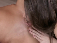 Candy Sweet likes when her lesbian friendi is licking pussy
